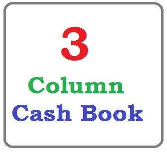 3 column Cashbook