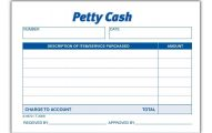 Pettry Cash Book