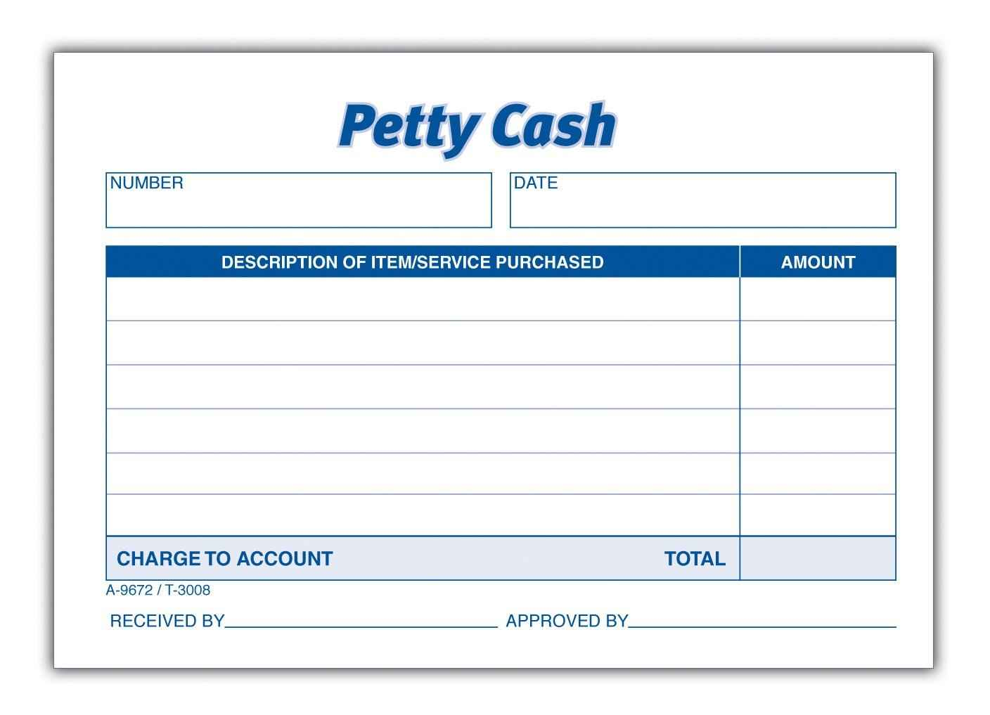 Petty Cash Book – Example of Petty Cash Voucher